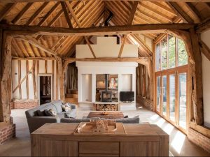 Barn Conversion in Thorndon, Suffolk by Beech Architects