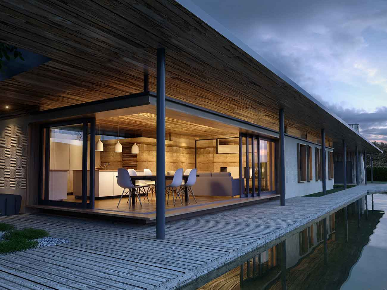 New Houses Eco-House Paragraph 55 Knoddishall Suffolk Beech Architects